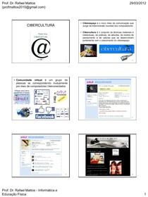 3 - Cibercultura - Rafael Mattos