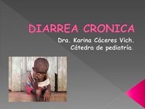 DIARREA CRONICA.