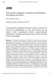 Pesquisa em Direito -  metodologia engessada