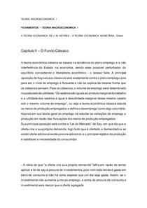 CAP 2 A TEORIA ECONOMICA DE J M KEYNES A TEORIA ECONOMICA MONETÁRIA, Dillard