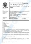 NBR 6484 Solo - Sondagens de simples reconhecimento com SPT - Método de ensaio