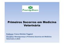 aula 1   Introdução em Primeiros Socorros em Medicina Veterinária