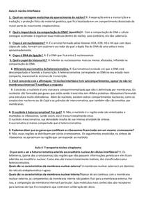 Resumão Biocel II AP 2
