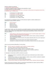 Questionarios para AV1