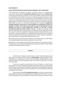 Desapropriação e indenização - Administrativo II