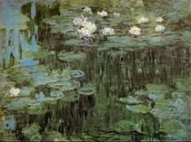 Water Lilies I-Claude Monet