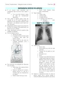 Radiografia simples do abdome