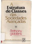 GIDDENS, Anthony. A estrutura de classes das sociedades avançadas