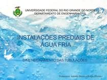Aula 6   Instalações Prediais de Água Fria