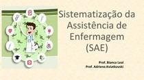 Sistematizacao Assistencia Saude Enfermagem E Suas Praticas