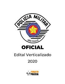 Polícia Militar de São Paulo (PMSP/PMESP - CFO) - Oficial - 2020 - Edital Verticalizado