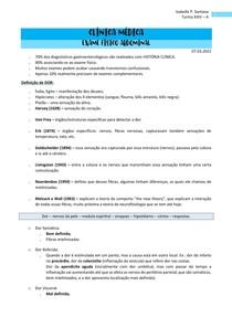 Exame Físico Abdominal - Clínica Médica