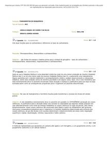 AV2 de Bioquimica _ 1 Passei Direto