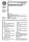 NBR 05354   1977   Requisitos para Instalações Elétricas Prediais