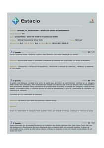 Gestão de Cadeia de Suprimentos - AV 4º per ADM