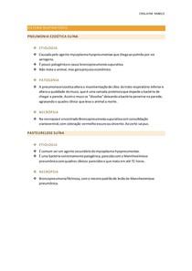 Sistema respiratório - pneumonia enzootica suína e pasteurelose suína