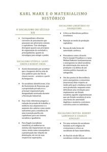 SOCIALISMO E MATERIALISMO HISTÓRICO - alice