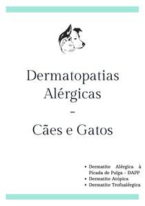 Dermatopatias alérgicas - cães e gatos