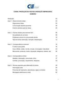 Apostila - Produção de Textos