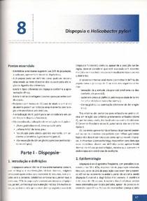 Capítulo 8 - Dispepsia e Helicobacter Pilory