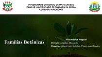 Famílias botânicas