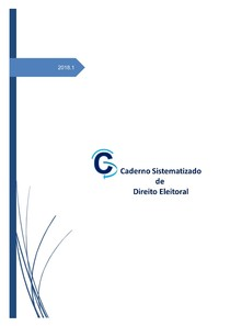 Caderno Sistematizado de Direito Eleitoral (2018)