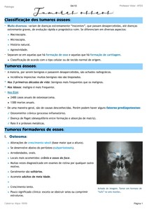 Patologia Óssea