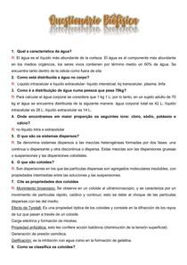 Questionário Biofísica P1