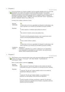 Questionario unidade 1 Metodologia do trabalho academico unip ead