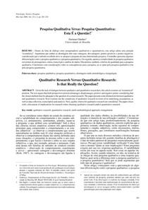 Texto 1 GUNTHER   Pesquisa qualitativa vs quantitativa (1)
