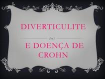 Diverticulite e Doença de Crohn