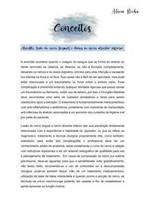CONCEITOS CIRURGIA