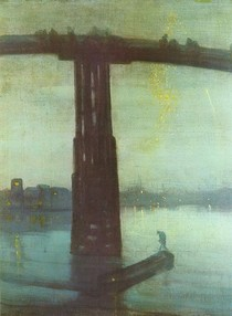 James Mcneill Whistler - Nocturne Blue and Gold - Old Battersea Bridge