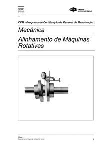 APOSTILA  ALINHAMENTO - COMO ALINHAR EQUIPAMENTOS - TÉCNICAS DE ALINHAMENTO MECÂNICO.