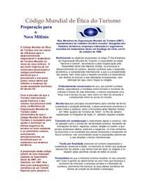 OMT Código Mundial de Ética do Turismo