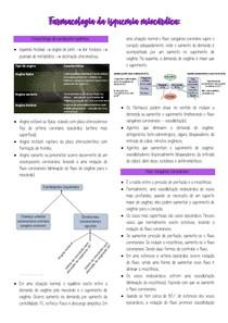Farmacologia da isquemia miocárdica