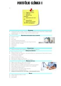Portfolio clinica I- primeiro atendimento odontológico