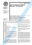 NBR 14166-1998 - Rede de Referência Cadastral