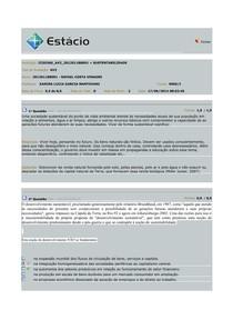 AV2 SUSTENTABILIDADE 2014.1