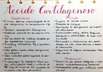 Histologia - tecido cartilaginoso