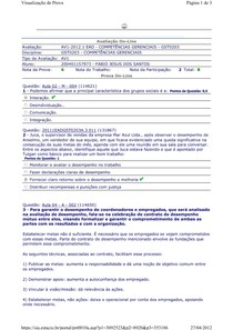 AV1 - Competências Gerenciais
