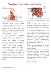 Resumo sistemas do corpo humano