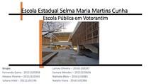 Escola Pública em Votorantim - slides