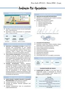 1- Avaliação Pré-Operatória - Mirian