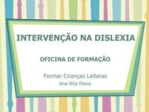 Intervencao na dislexia