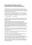 Determinação de Idade a Partir da Radioatividade (Datação Radiométrica)