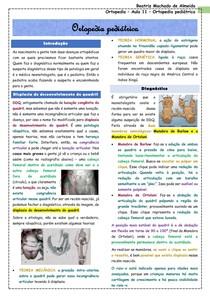 Ortopedia - Aula 11 - Ortopedia pediátrica