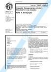 NBR 14040 04   1998   Inspeção de Segurança Veicular   Sinalização