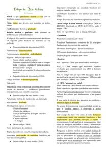 AULA 3 - Código de Ética Médica