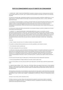 TESTE DE CONHECIMENTO AULA 07 DIREITO DO CONSUMIDOR-convertido